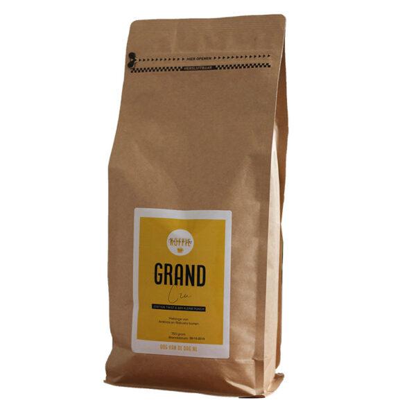 Koffie.Oog van de dag.Grand Cru